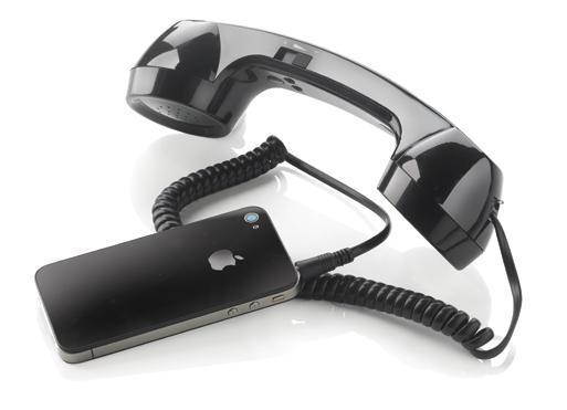 Smartphone-Zubehör mit Werbeaufdruck