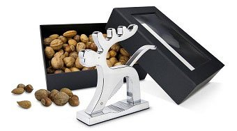 Werbeartikel Nüsse und Nussknacker in Geschenkbox