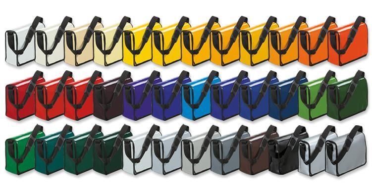 Die Werbetasche Lorrybag gibt es in vielen Farben und Formen