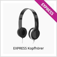 Express Kopfhörer als Werbeartikel bedrucken