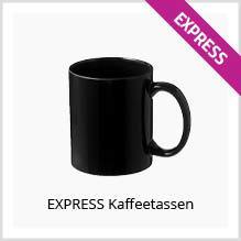 Express-tassen bedrucken