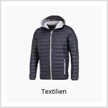 Express-Textilien mit Logo