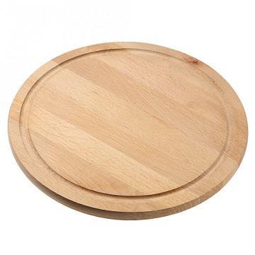 Rundes Küchenbrett aus Holz