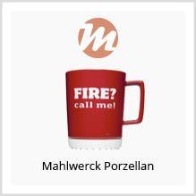 Mahlwerck Porzellan als Werbegeschenk bedrucken