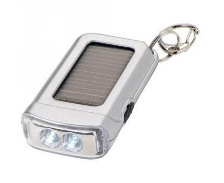 Solar Taschenlampe mit Firmenlogo