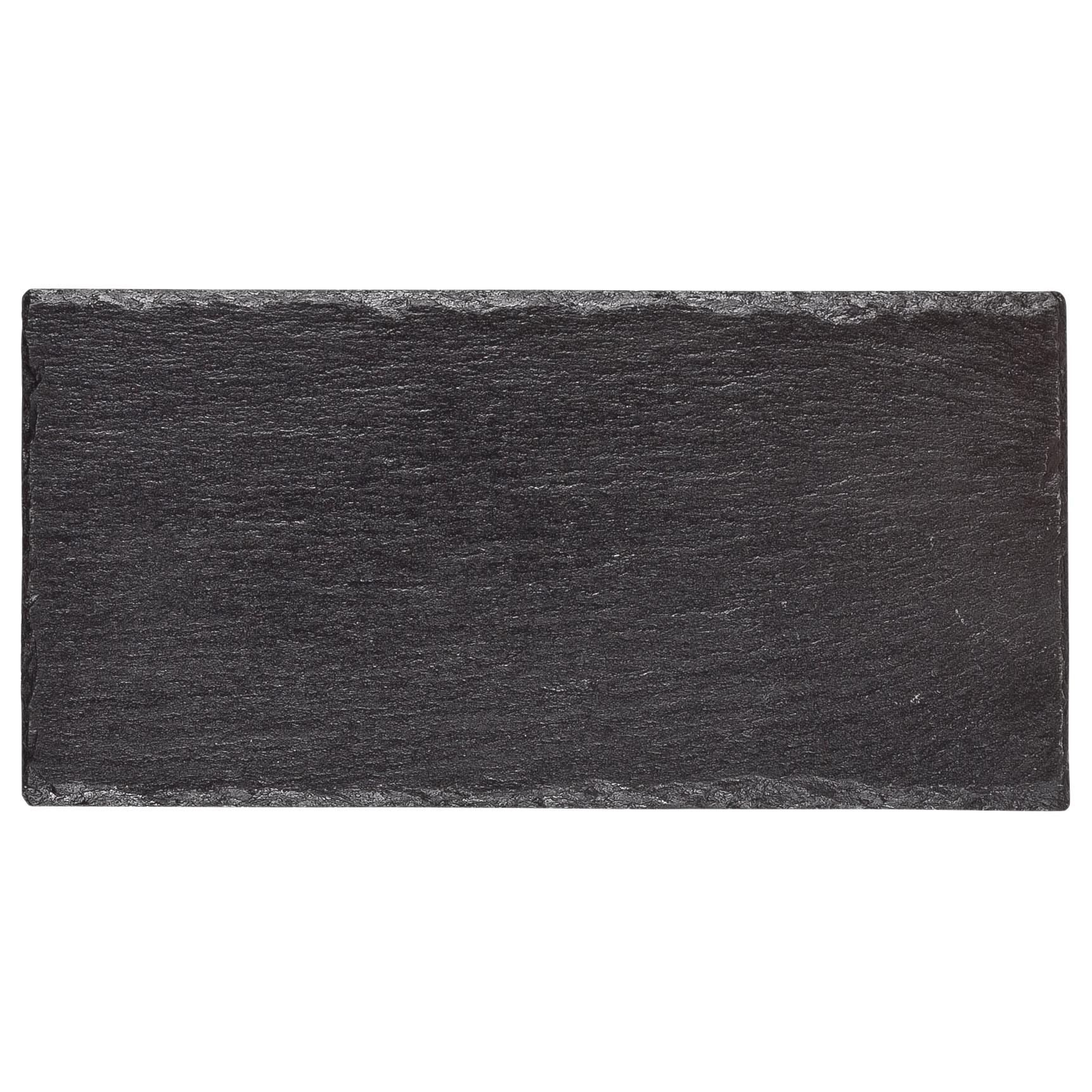 Servierplatte Schiefer mittel, schwarz, Ansicht 4