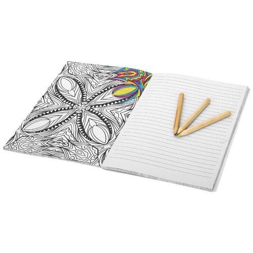 Doodle Farbtherapie Notizbuch