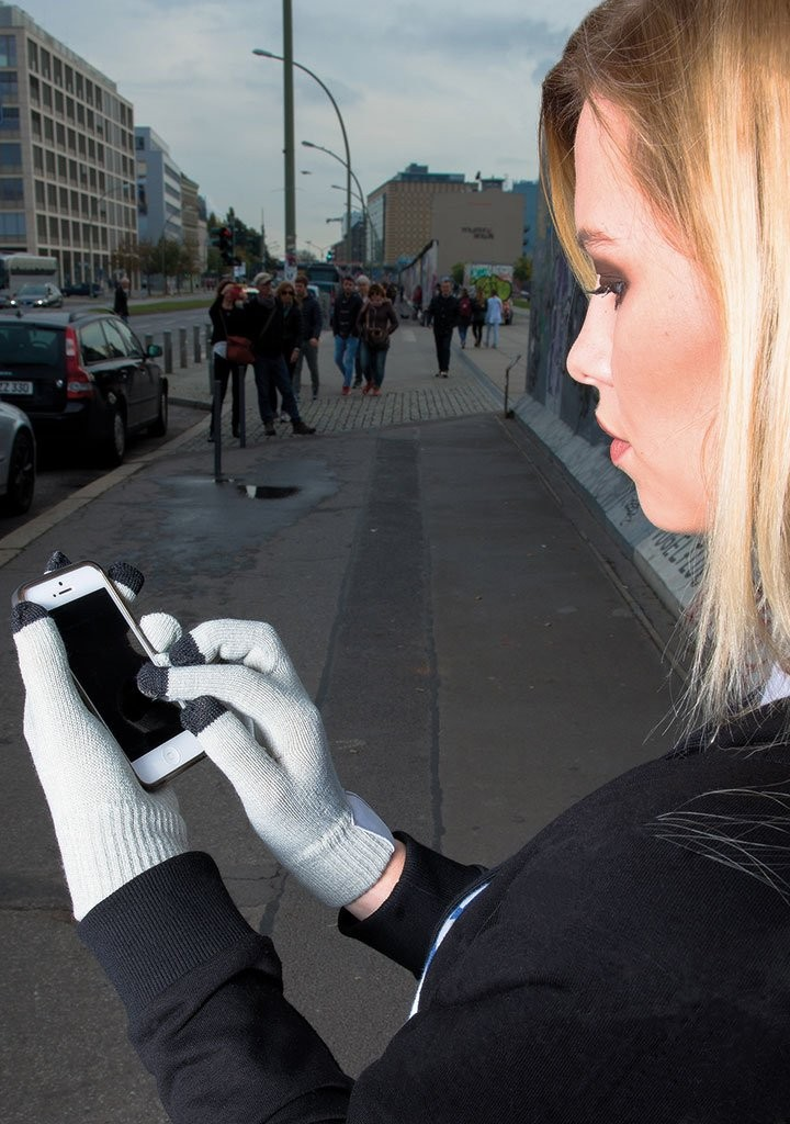 Touchscreen gloves with label, Ansicht 2