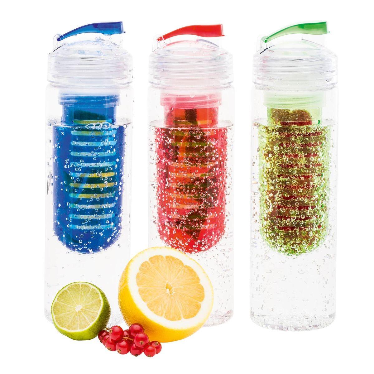 Trinkflasche mit Fruchtbehälter REFLECTS-JOLIETTA, Ansicht 6