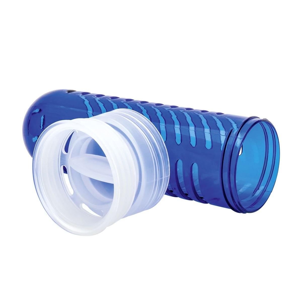 Trinkflasche mit Fruchtbehälter REFLECTS-JOLIETTA