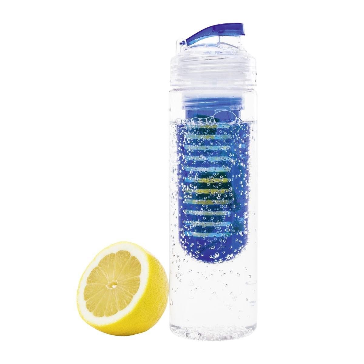 Trinkflasche mit Fruchtbehälter REFLECTS-JOLIETTA, Ansicht 2