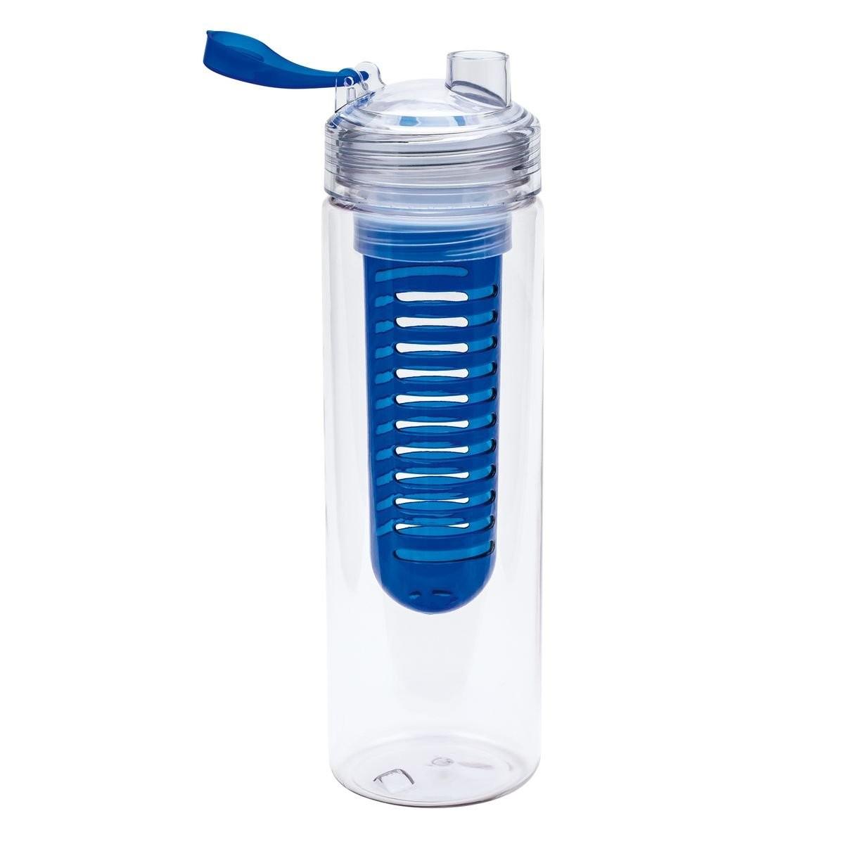 Trinkflasche mit Fruchtbehälter REFLECTS-JOLIETTA, Ansicht 3