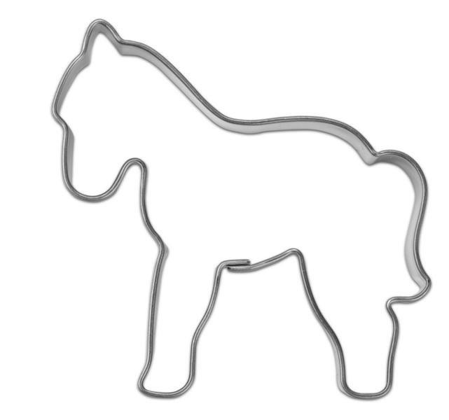 Backförmchen Box Pferd, Ansicht 2