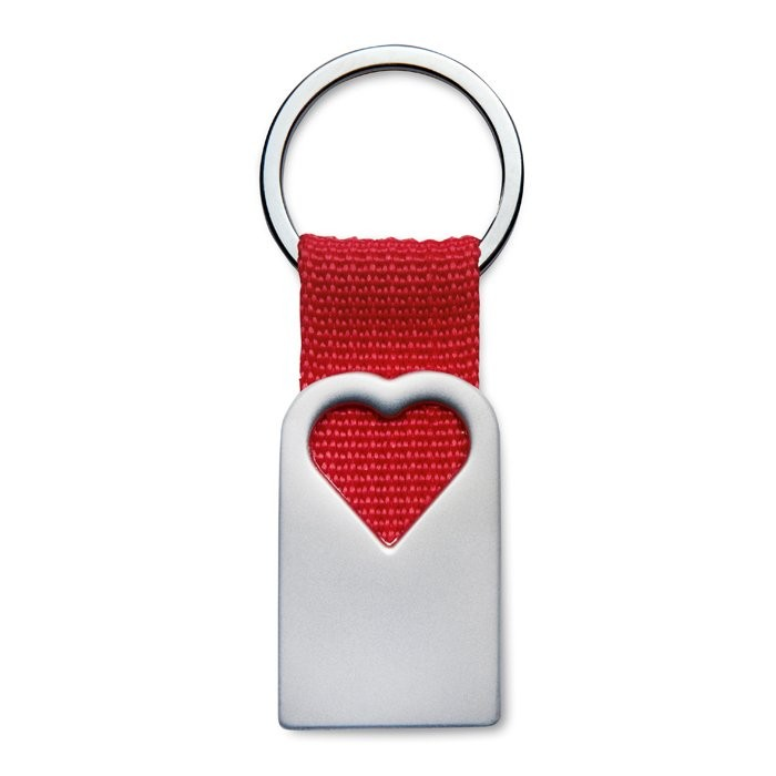 Schlüsselanhänger Herz BONHEUR, Ansicht 5