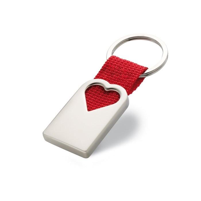 Schlüsselanhänger Herz BONHEUR
