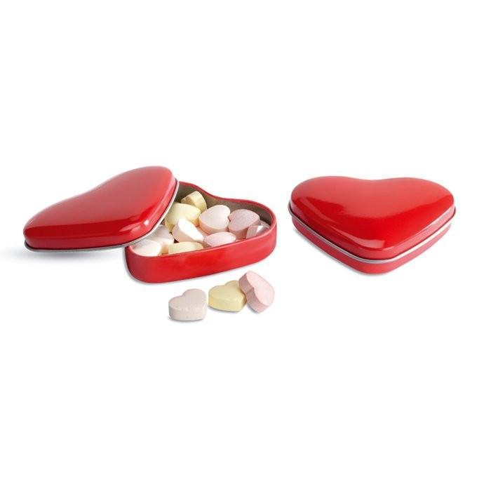 Herzdose mit Bonbons LOVEMINT, Ansicht 2