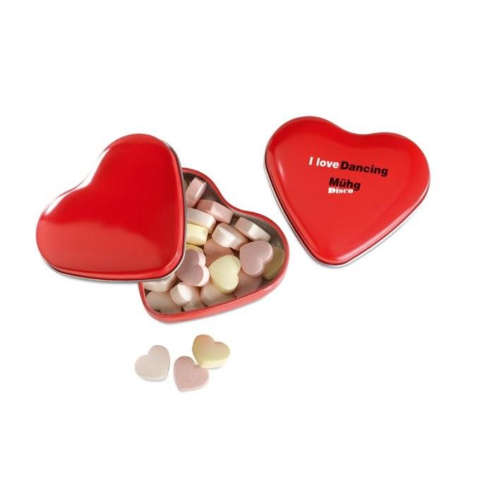Herzdose mit Bonbons LOVEMINT, Ansicht 3