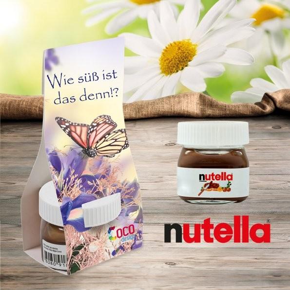 Nutella in Überreichverpackung, Ansicht 2