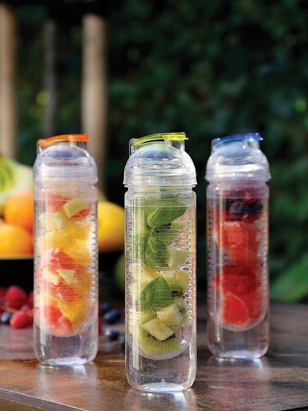 Wasserflasche mit Aromafach, 500ml
