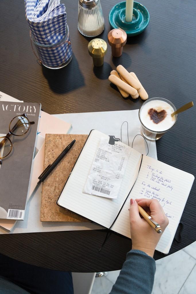 Kork A5 Notizbuch mit Bambus Stift und Stylus, Ansicht 7