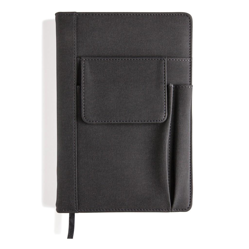 Notizbuch mit Telefontasche, Ansicht 2