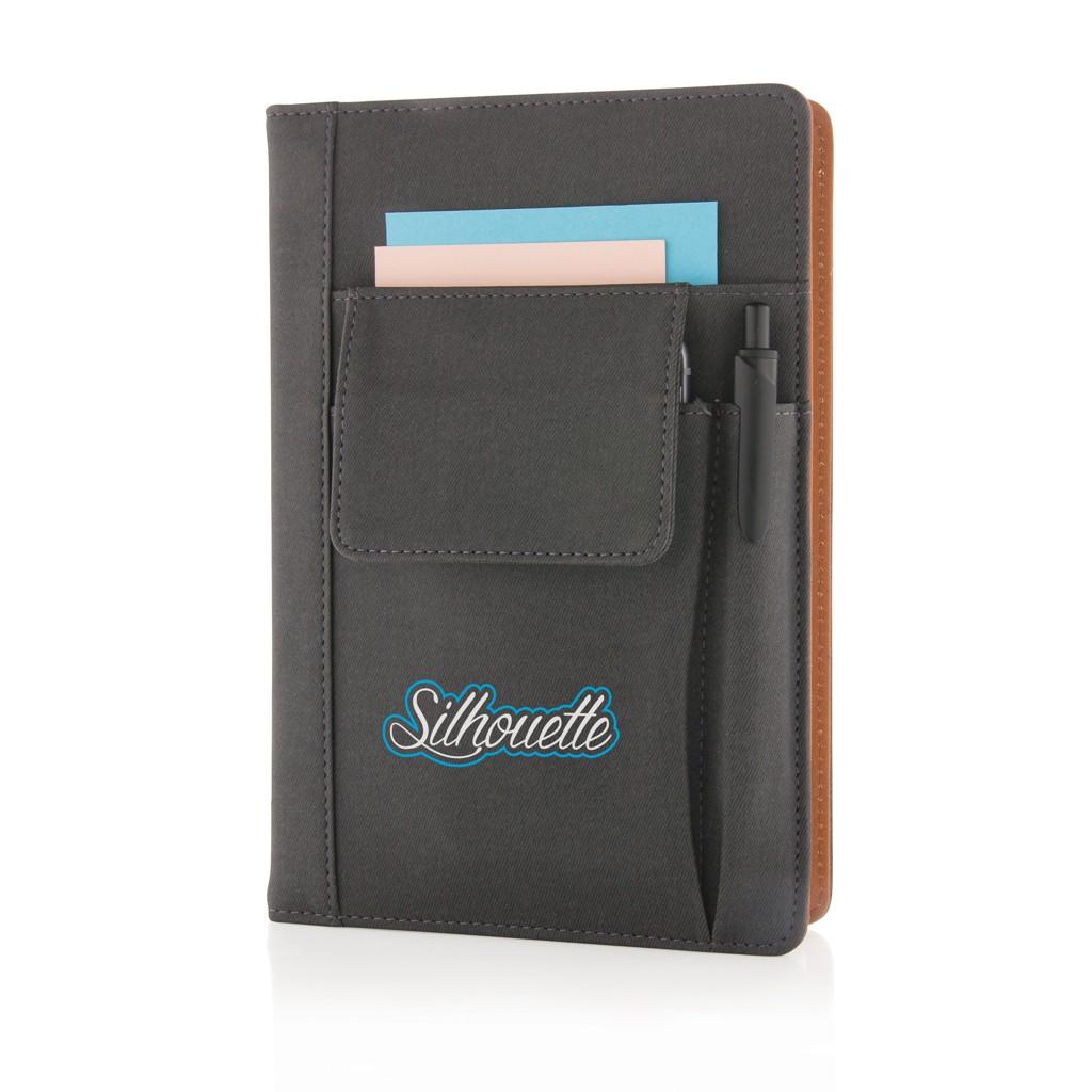 Notizbuch mit Telefontasche, Ansicht 5