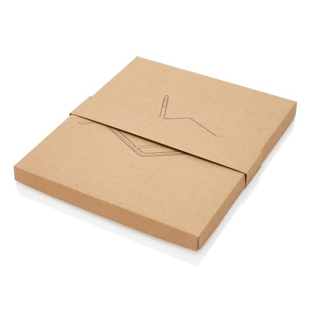Kork A5 Notizbuch mit Bambus Stift und Stylus, Ansicht 17