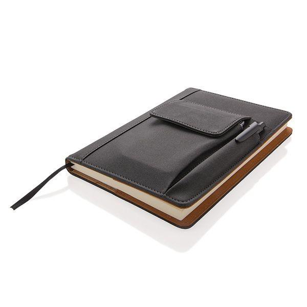 Notizbuch mit Telefontasche, Ansicht 12