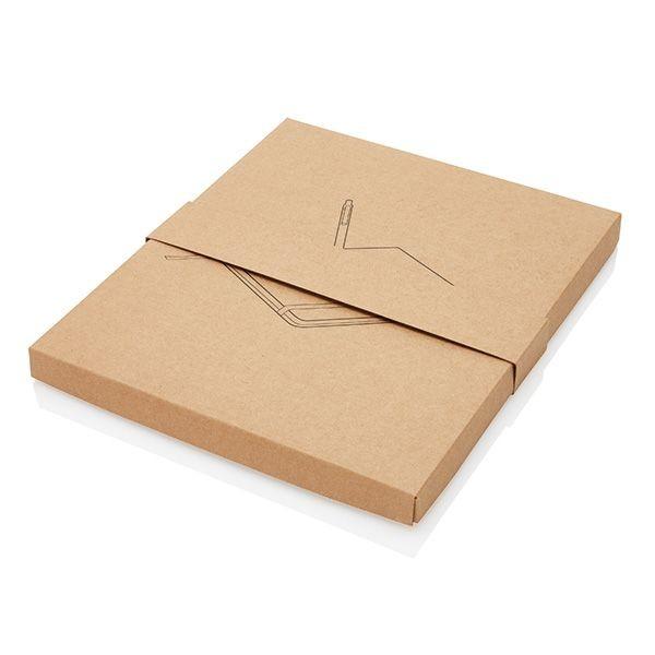 Kork A5 Notizbuch mit Bambus Stift und Stylus, Ansicht 19