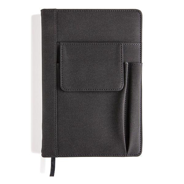 Notizbuch mit Telefontasche, Ansicht 4