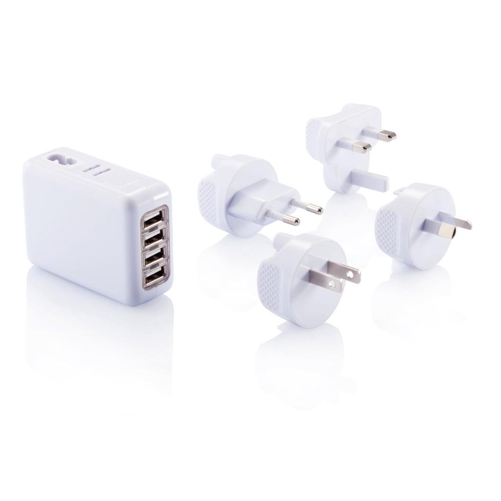Reiseadapter mit 4fachem USB Anschluss
