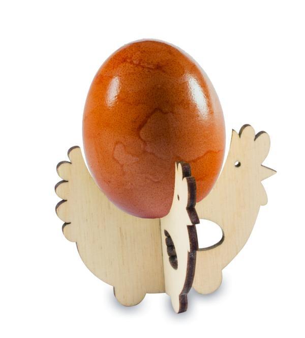 Steck-Eierbecher Huhn mit Lasergravur, Ansicht 4