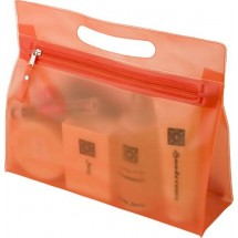 Kulturtasche 'Panorama' - Orange
