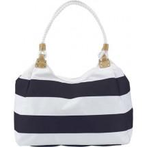 Strandtasche 'Nautica' - Blau/Weiß