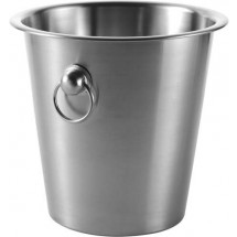 SektuChampagnerkühler 'Cheers' - Silber
