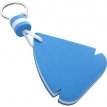 Schlüsselanhänger 'Sailing' - Blau/Weiß