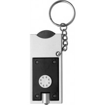Schlüsselanhänger 'Spotlight' - Schwarz