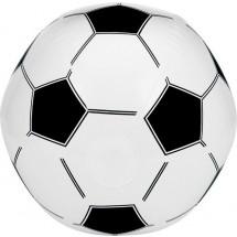 Wasserball im Fußballdesign - Weiß