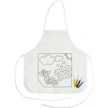 Küchenschürze 'Creativ Kid' - Weiß