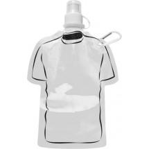 Trinkflasche 'Soccer' - Weiß