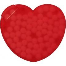 Pfefferminzbonbons 'Heart' - Rot