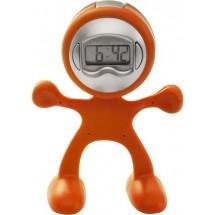 Tischuhr 'Magic Men' - Orange