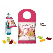 BottleBag mit Fruchtgummi - transparent
