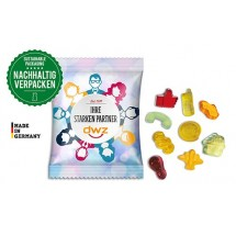 Fruchtgummi Standardformen (15 g) - transparent