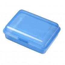 """Vorratsdose """"School-Box"""" groß, hochglänzend - trend-blau PP"""