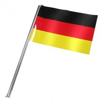 """Fahne, selbstaufblasend """"Deutschland"""" groß"""