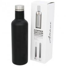 Pinto Kupfer-Vakuum-Isolierflasche - schwarz