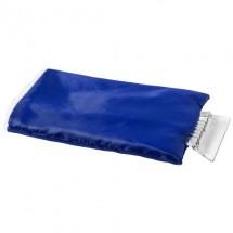 Eiskratzer mit Handschuh - blau