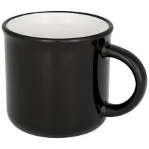 Lagerfeuer-Keramikbecher - schwarz
