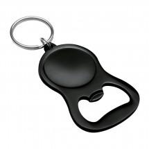 Schlüsselanhänger mit Flaschenöffner REFLECTS-JUMILLA BLACK